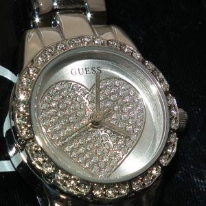 Guess Harper Analog Silver Dial Women's Watch